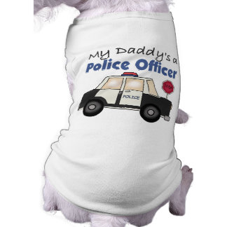 Camiseta Um agente da polícia do meu pai