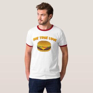 Camiseta Um amor verdadeiro: Cheeseburger