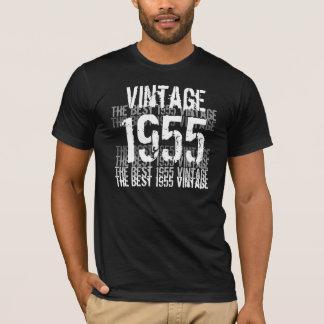 Camiseta Um ano de 1955 aniversários - o melhor vintage
