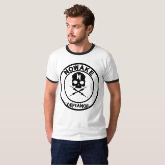 Camiseta Um ato da campainha do desafio