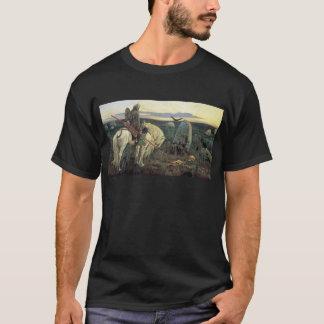 Camiseta Um cavaleiro nas estradas transversaas