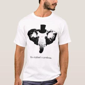 Camiseta Um cavalheiro do elefante