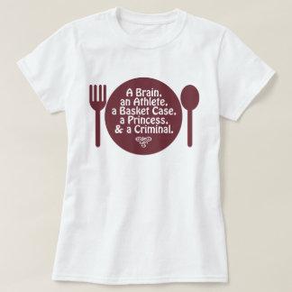 Camiseta Um cérebro, um atleta, uma caixa de cesta… Cultura