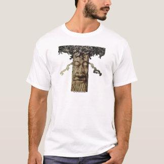 Camiseta Um cobrir poderoso da árvore