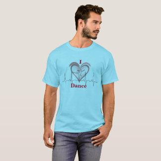 Camiseta Um coração para a dança