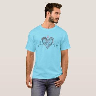 Camiseta Um coração para a paz