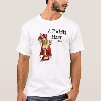 Camiseta Um coração prideful
