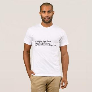 Camiseta Um cristão deve levar mais
