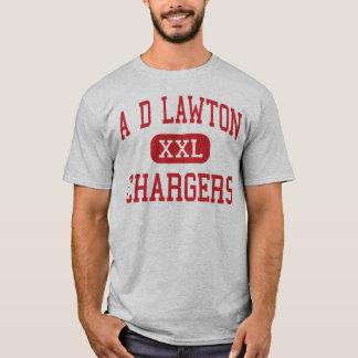 Camiseta Um D Lawton - carregadores - meio - junção de