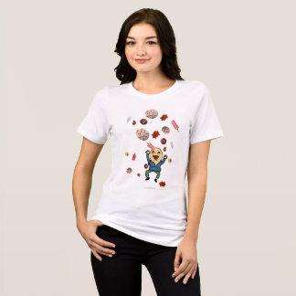 Camiseta Um desejo: Conchas, dulces, paletas