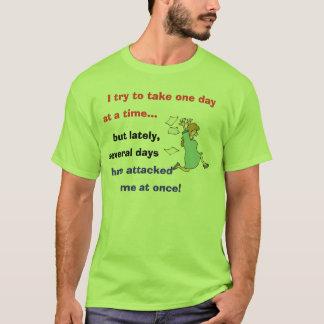 Camiseta Um dia de cada vez