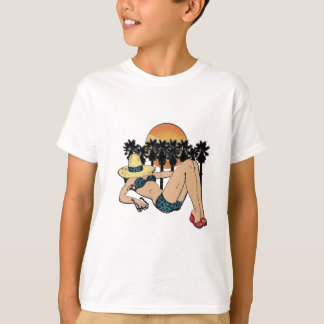 Camiseta Um dia no paraíso