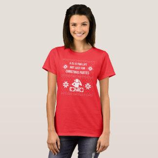 Camiseta Um DJ é para a vida não apenas para festas de