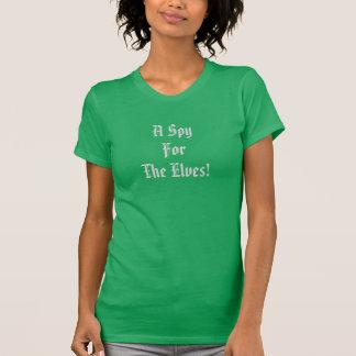 Camiseta Um espião para os duendes!