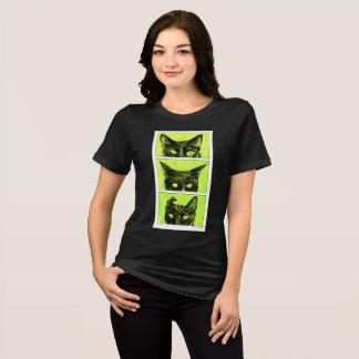 Camiseta Um estudo das orelhas de gato