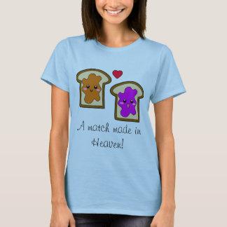"""Camiseta """"Um fósforo feito no céu!"""" PB & t-shirt de J"""