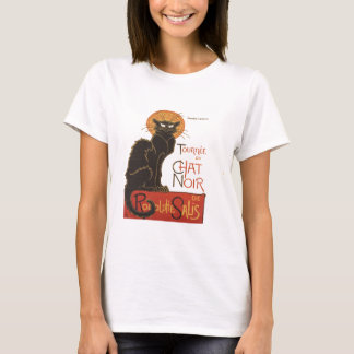 Camiseta Um gato de Steinlen