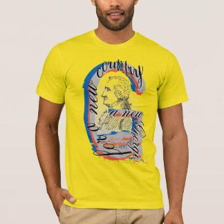 """Camiseta """"""""Um George novo"""" para t-shirt de um país novo"""""""