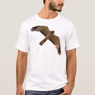 Camiseta Um Harrier do norte sobe em cima