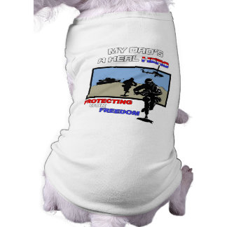 Camiseta Um herói real - forças armadas