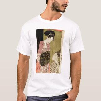 Camiseta Um homem que pinta uma mulher