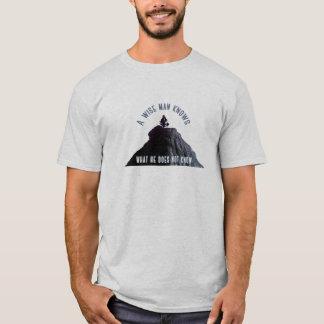 Camiseta Um homem sábio sabe o TShirt