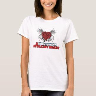 Camiseta Um Honduran roubou meu coração
