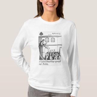 Camiseta Um jesuíta que Preaching contra nossa bíblia