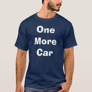 Camiseta Um mais carro