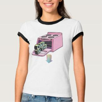 Camiseta Um no forno dela T