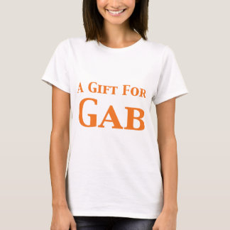 Camiseta Um presente para presentes do entalhe