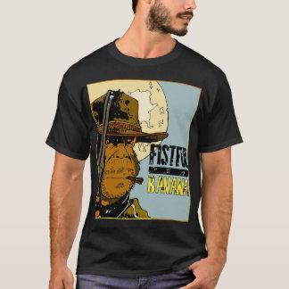Camiseta Um punhado das bananas - Monkey Clint (o nero