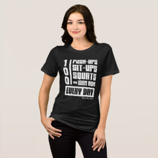 Camiseta Um regime do homem do perfurador