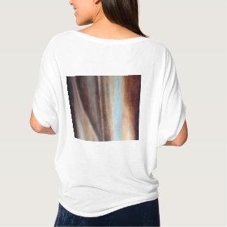 Camiseta Um relance da parte superior do círculo do