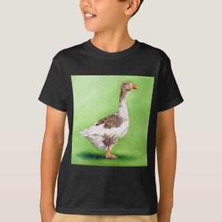 Camiseta Um retrato de um ganso