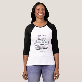 Camiseta Um senhor, uma fé