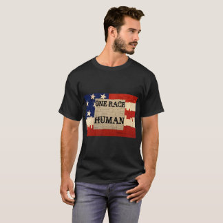 Camiseta Um ser humano da raça