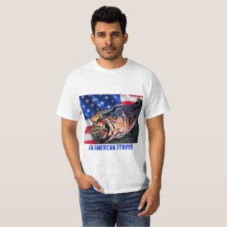 Camiseta Um Striper americano