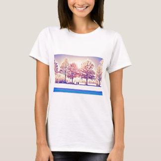 Camiseta Um stroll nas madeiras