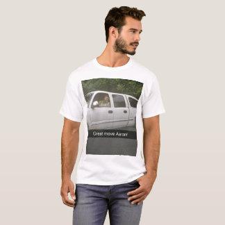 Camiseta Um T comemorativo verdadeiramente grande!
