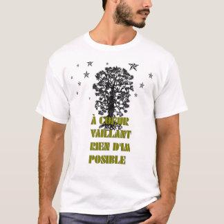 """Camiseta """"um T do coeur """""""