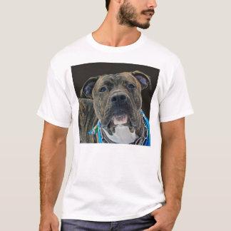 Camiseta Um t-shirt americano do buldogue
