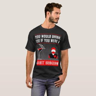 Camiseta um t-shirt do cirurgião de coração