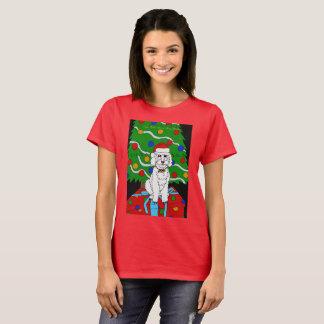 Camiseta Um t-shirt do Natal de Doggo