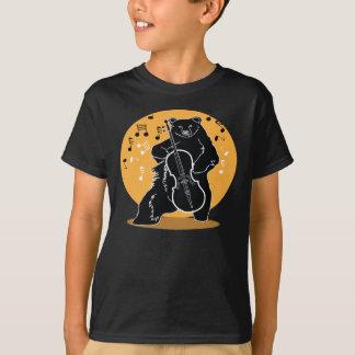 Camiseta Um urso e um violoncelo