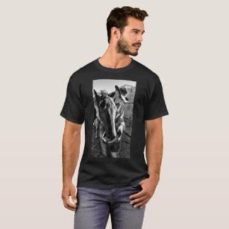 Camiseta Um vaqueiro e seu cavalo