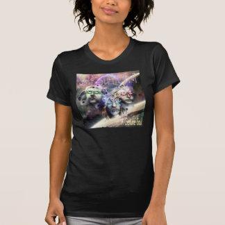 Camiseta Uma alma genuína por auto-suficiente (mulheres)