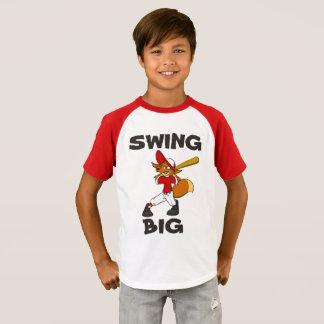 Camiseta Uma batida para você T do basebol
