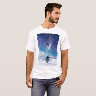 Camiseta Uma caminhada na neve