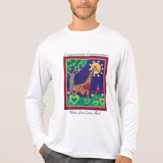 Camiseta Uma comunicação compassivo (dia)